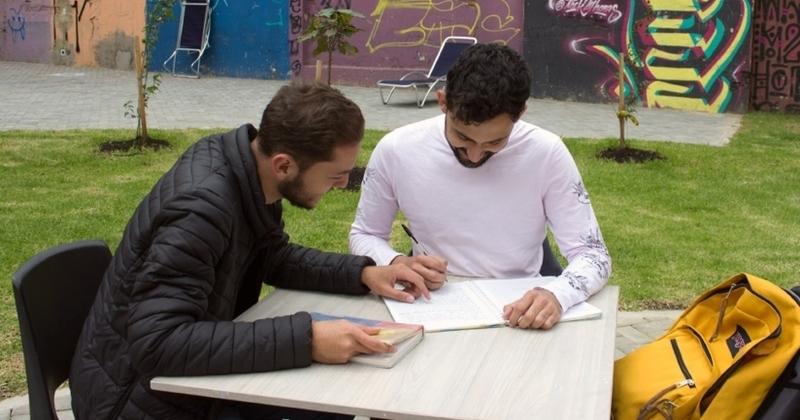 Estudiantes en Bogotá